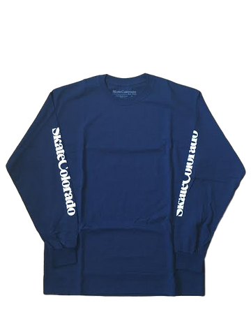 Long Sleeve T-Shirt Men's Skate Colorado