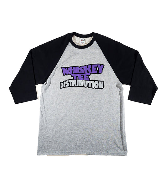 Whiskey Tee Dist. Men's Raglan