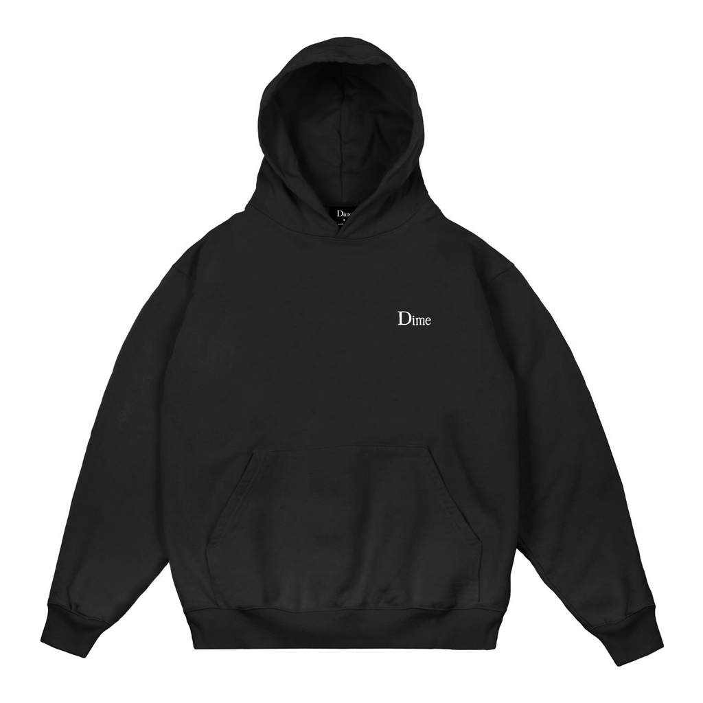 DIME CLASSIC SMALL LOGO HOODIE