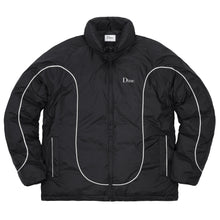 DIME BLACK COURT PUFFER JACKET