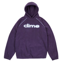 DIME PURPLE FLEECE HOODIE
