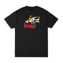 DIME BLACK NET RACER T-SHIRT