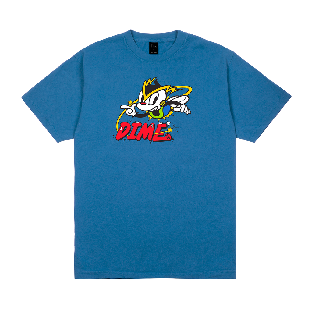 DIME BLUE MOON NET RACER T-SHIRT