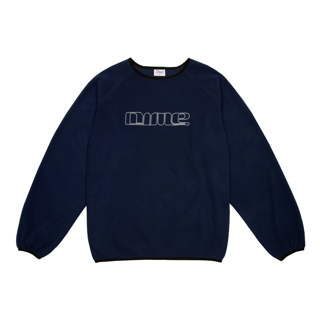 Raglan Polar Fleece Crewneck