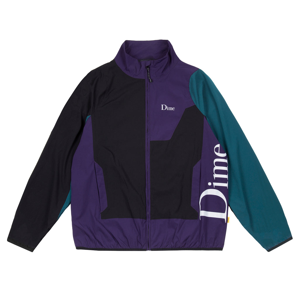 DIME BLACK & TEAL RANGE JACKET