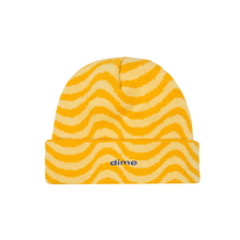 DIME YELLOW WAVE BEANIE