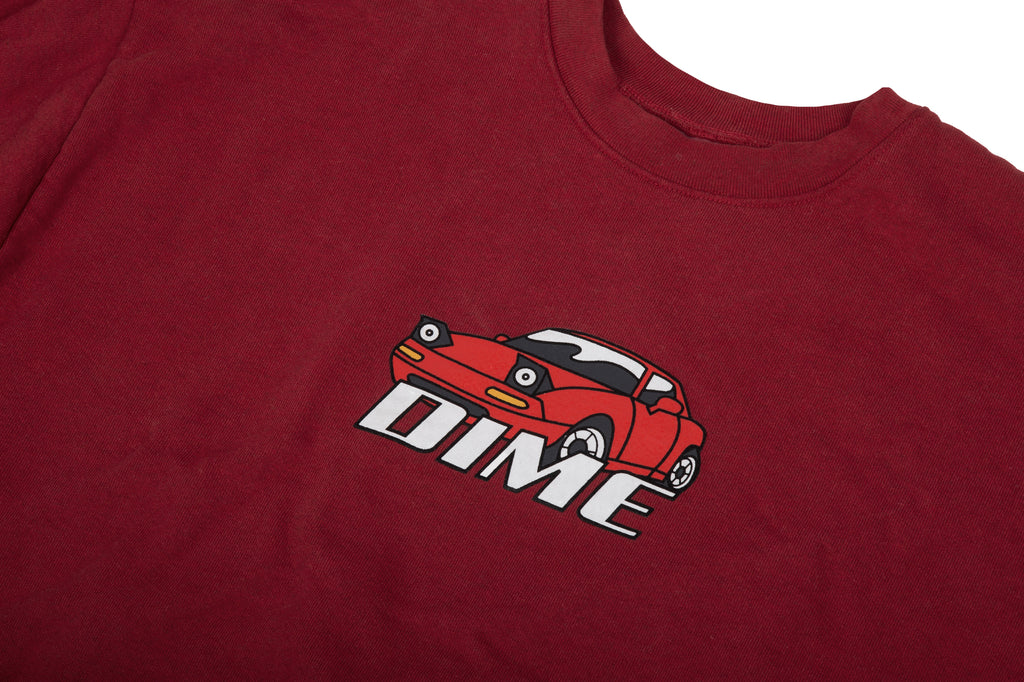 FAST-LOOKING CAR CREWNECK