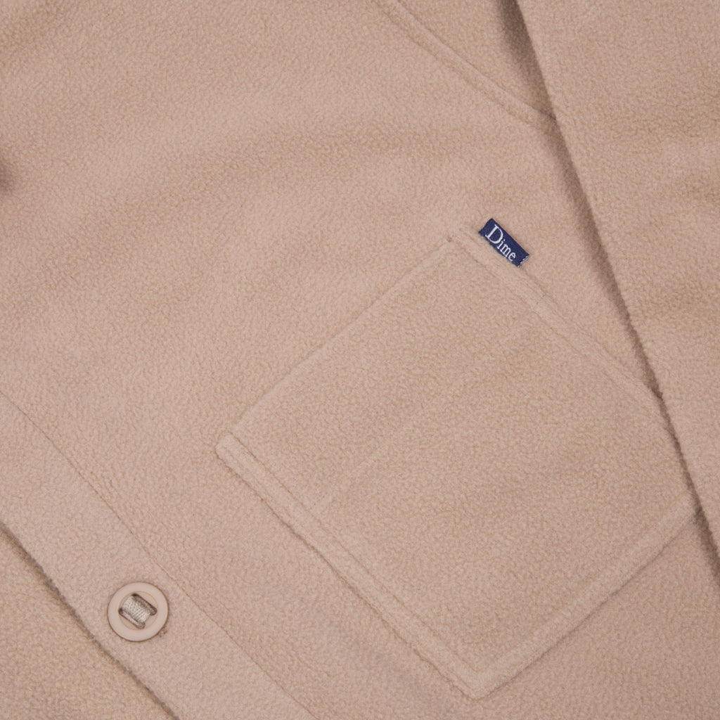 POLAR FLEECE BUTTON UP SHIRT