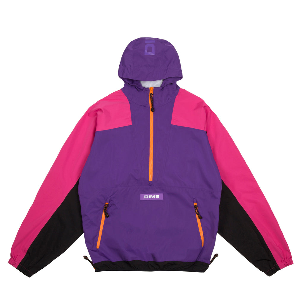 PULLOVER HOODED SHELL