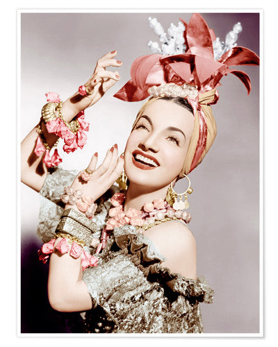 "Carmen Miranda - From ""little remarkable"" to Brazilian Bombshell"