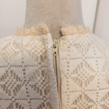 Load image into Gallery viewer, 1960s - Adrian Tabin - Gorgeous White Cotton Lace Dress - W31 (80cm)