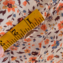 Load image into Gallery viewer, 1930s - Fabulous Massive Puff-Sleeves Cold Rayon Dress - W28 (72cm)