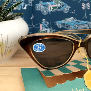 1950s - DEADSTOCK - Echtenia, Germany - Cat-eye Sunglasses - E94