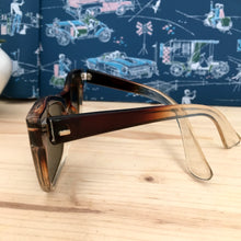 Load image into Gallery viewer, 1950s - DEADSTOCK - STRATOPHAN, Germany - Two Tone Rockabilly Sunglasses