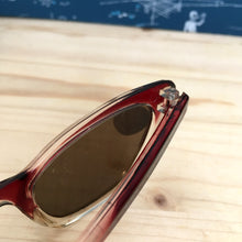 Load image into Gallery viewer, 1950s - DEADSTOCK - AUER, Germany - Two Tone Cat-Eye Sunglasses