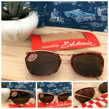 Load image into Gallery viewer, 1950s 1960s - DEADSTOCK - Echtenia, Germany - Tortoiseshell Sunglasses