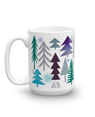 Little Blue Fox Premium Mug