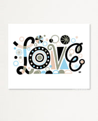 Mindful Love Art Print