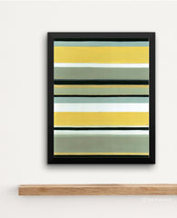 Sun Stripes Art Print