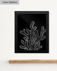 Ghost Coral Art Print