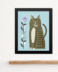 Kitty, Kitty Art Print