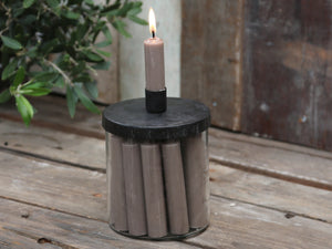 Candle Holder with Lid