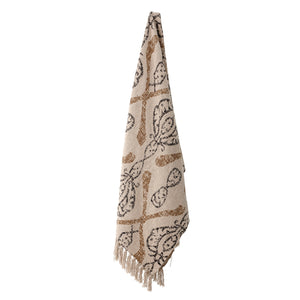 Natural Throw - Recycled Cotton