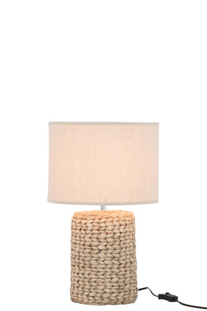 Lamp with Knitted Detail