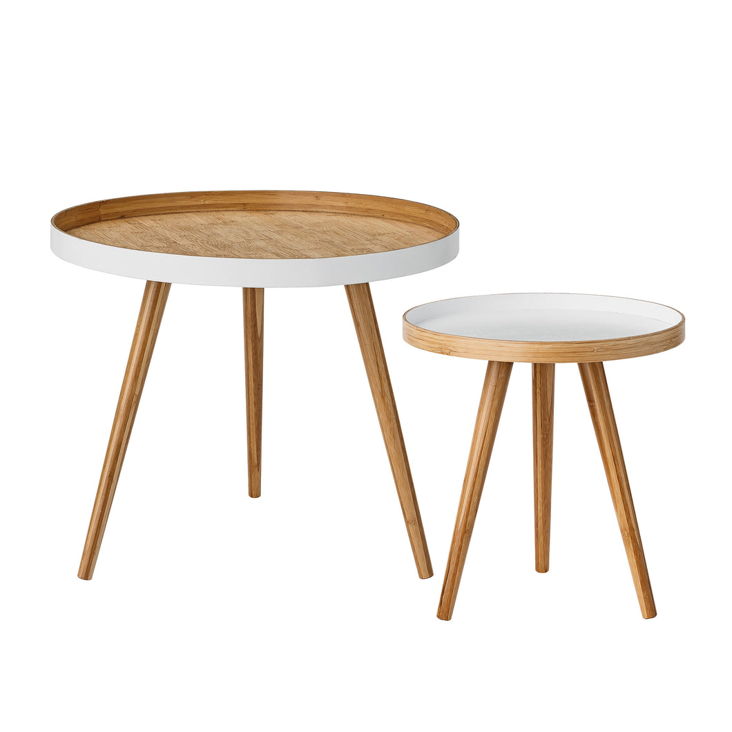 Cappuccino Coffee Table - Set of 2