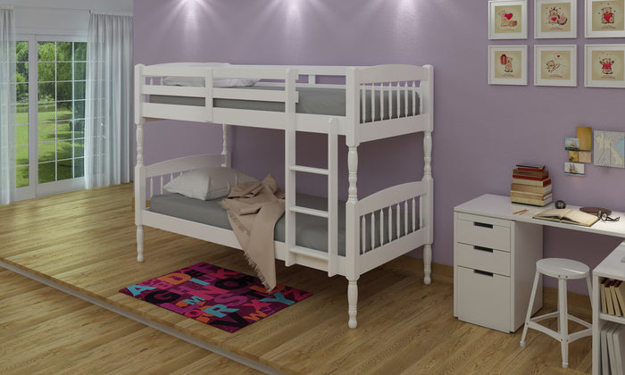 Alex Bunk Bed White