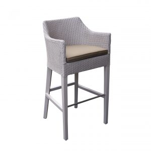Loom Barstool with arms  (Incl Cushion)