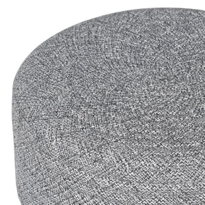 Grey Woven Top Stool