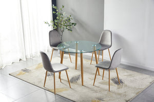 Geneva Dining Set (Table & 4 Chairs)