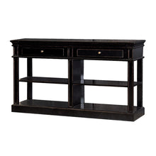 Load image into Gallery viewer, Black Fayence Shelf Buffet