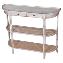 Load image into Gallery viewer, Imperial 2 Drawer Rattan Console Table