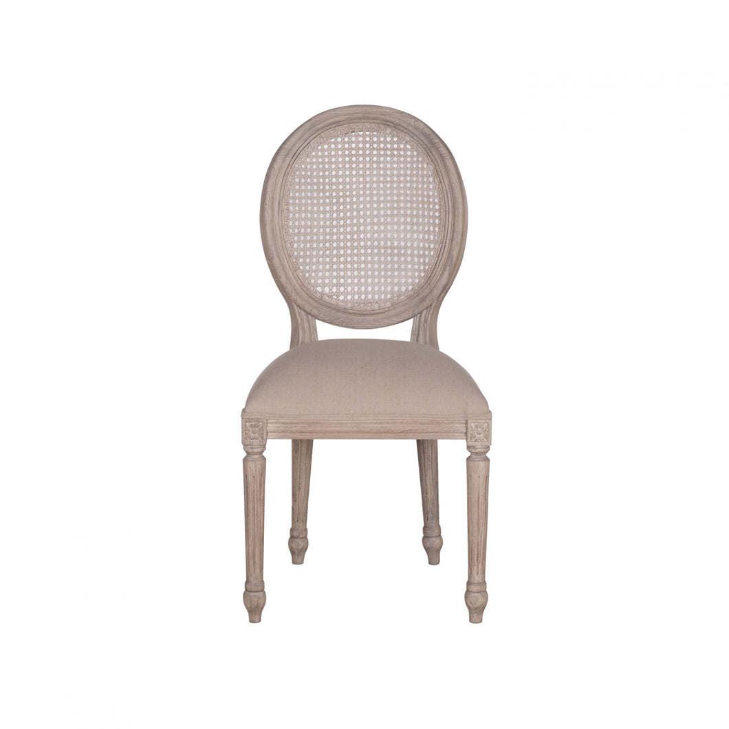 Rochelle Rattan Back Chair (Available to Pre Order)