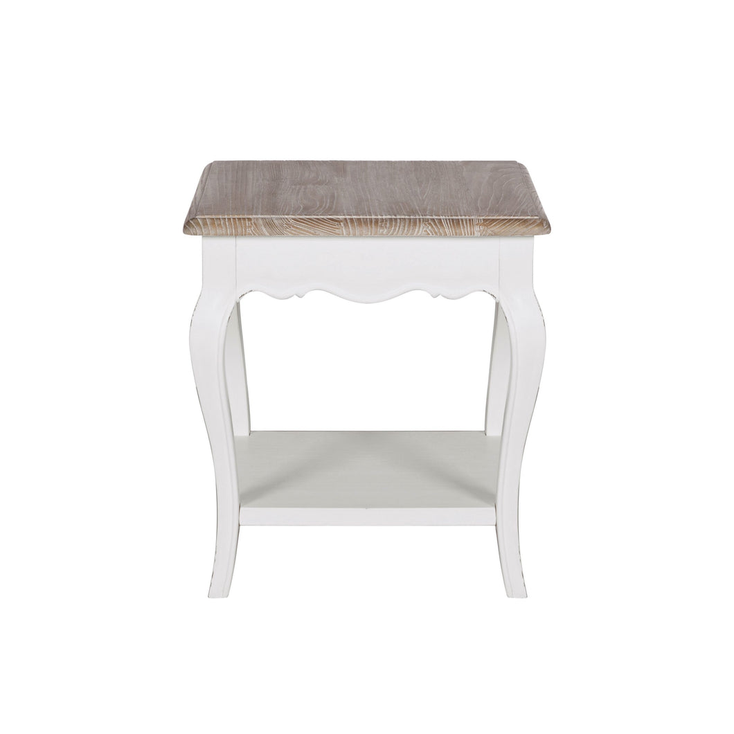 Rochelle End Table with Shelf