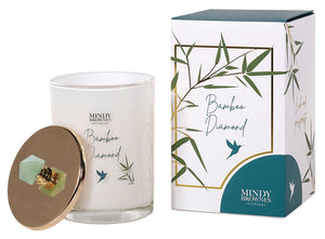 Bamboo Diamond Scented Candle (Zen02)