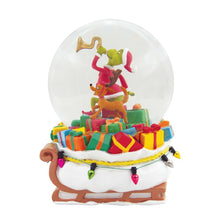 Load image into Gallery viewer, Department 56 The Grinch Dr. Seuss Grinch Delivering Gifts Waterglobe