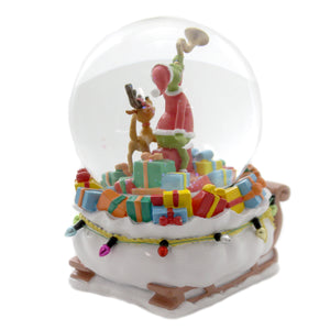 Department 56 The Grinch Dr. Seuss Grinch Delivering Gifts Waterglobe
