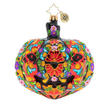 Load image into Gallery viewer, Christopher Radko: Dia De Los Muertos Pumpkin