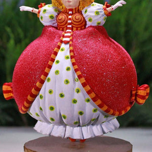 Patience Brewster Christmas Krinkles Ginger Mother Ornament