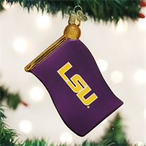 LSU Flag Ornament