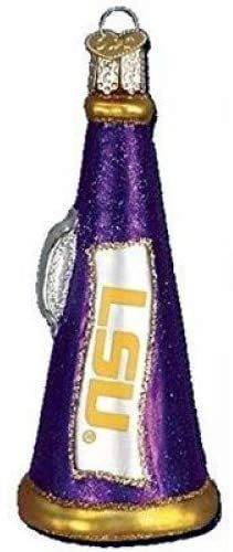 LSU Megaphone Christmas Ornament
