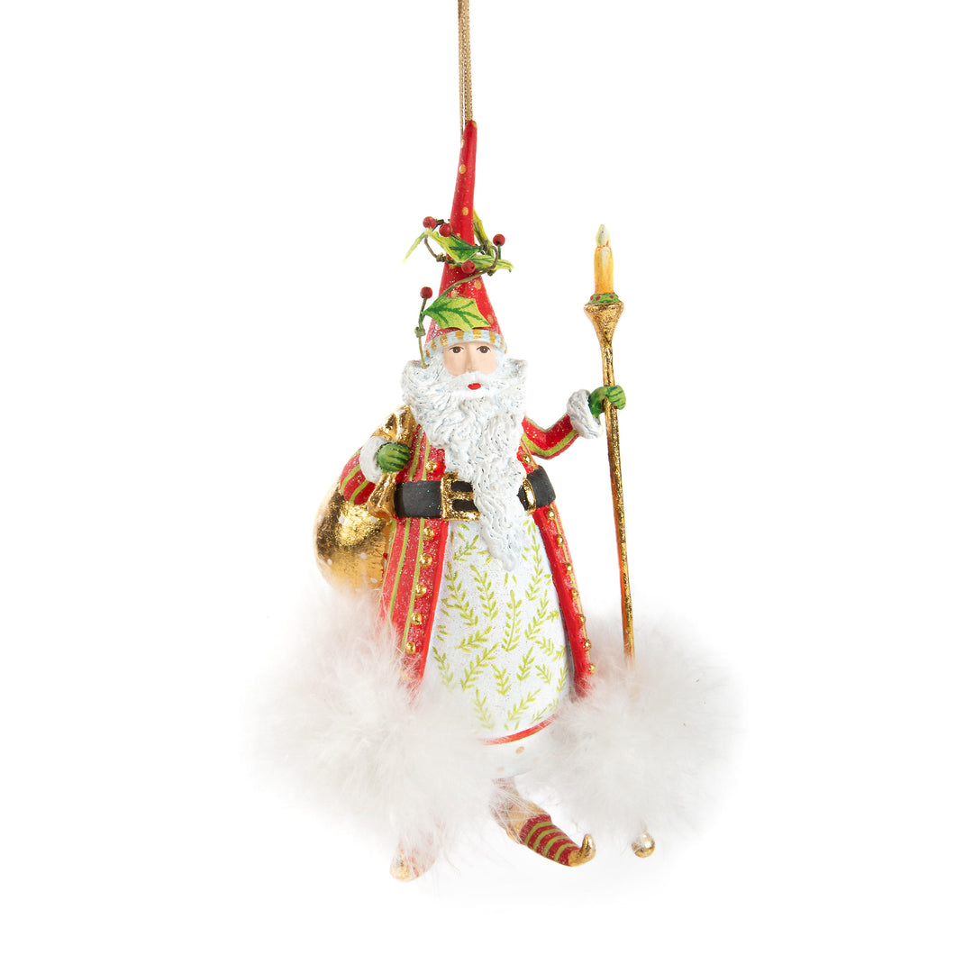 Patience Brewster Dash Away Nicholas Santa Ornament