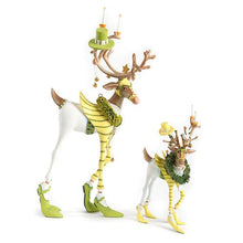 Load image into Gallery viewer, Patience Brewster Dash Away Prancer Reindeer Ornament