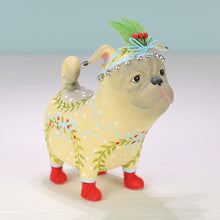 Load image into Gallery viewer, Patience Brewster Prudence Pug Ornament