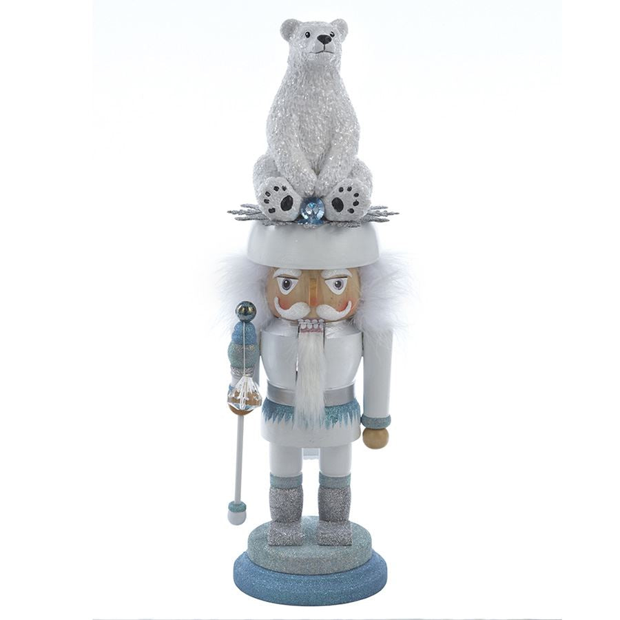 Polar Bear Hat Nutcracker
