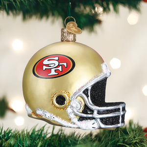 San Francisco 49ers Helmet Ornament