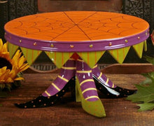 Load image into Gallery viewer, Patience Brewster Witch's Shoe Cake Plate